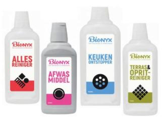Milieuvriendelijke schoonmaak producten
