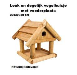 Vogelhuisjes en insectenhotels