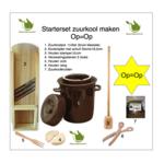 Starterset Zuurkool maken 15 liter (bruin klassiek)