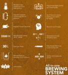 Brew Monk™ - Alles-in-een brouwsysteem