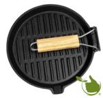 Gietijzeren pan, rond diameter 24 cm