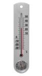 Wandthermometer/hygrometer