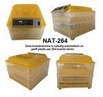Broedmachine NAT-264 (webwinkel Natuurlijkerleven)