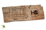 Woodland kippenhok hennie classic 183x78x104CM
