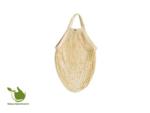 Boodschappentas gemaakt van biologisch katoen ecru