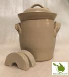 Zuurkoolpot 2 liter (grijs/klassiek)