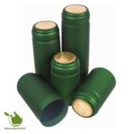 Thermo-capsules groen+goud 100 stuks