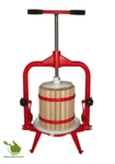 Fruitpers/wijnpers 18 liter (kantelpers)