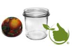 Jampotten 346 ml met twist-off deksel (fruit classic) 5 stuks