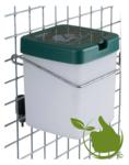 Drinkfles met klepdeksel 0,5 l naturel incl.beugel voor konijnenhok