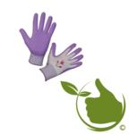 Handschoen Garden Care lila mt.8 (uni)