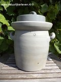 Zuurkoolpot 6 liter (grijs/klassiek)_