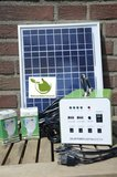 Draagbaar Zonnepaneel Camping LED Verlichtingsset met Accu