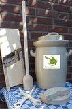 Startpakket zuurkoolpot 10 liter (Grijs-Klassiek)