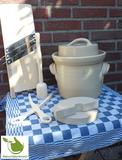 Startpakket zuurkoolpot 3 liter (Grijs-Klassiek)