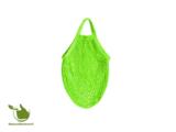 Boodschappentas van biologisch katoen in de kleur groen