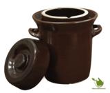 Zuurkoolpot bruin klassiek 20 liter