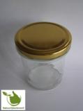 Jampotten 346 ml met twist-off deksel goud