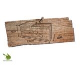 Woodland konijnenhok lambert cottage 155x53x70cm