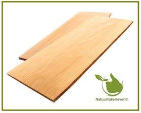 Cederhouten plank 14x38 2st