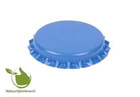 Kroonkurken licht blauw 26 mm (verpakt per 100 stuks)