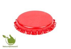 Kroonkurken Rood 26 mm (verpakt per 100 stuks)