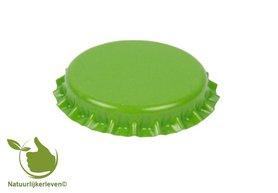 Kroonkurken Groen 26 mm (verpakt per 100 stuks)