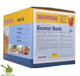 Moutpakket BREWFERM BEAVER-BOC voor 20 ltr