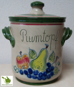 Rumtopf met fruitmotief 5 liter