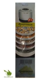 Droogmatjes (5st) voor Espressions dehydrator EP5600
