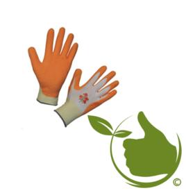 Handschoen Garden Care oranje mt.8 (uni)