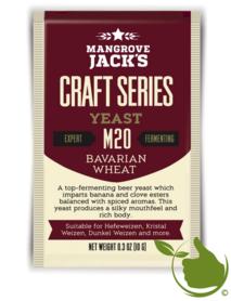 Gedroogde biergist Bavarian Wheat M20 – Mangrove Jack's Craft Series - 10 g