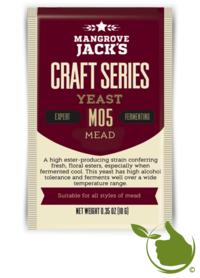 Gedroogde biergist Mead – Mangrove Jack's Craft Series - 10 g