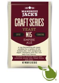 Gedroogde biergist Empire Ale M15 – Mangrove Jack's Craft Series - 10 g