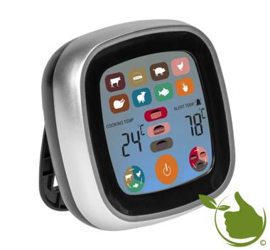 Elektronische pin-thermometer met LCD-touchscreen