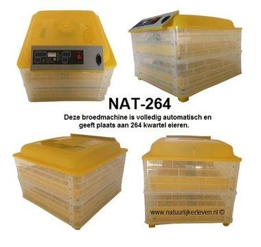 Kwartelbroedmachine NAT-264