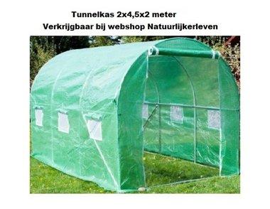 Tunnelkas 2x4,5x2 meter