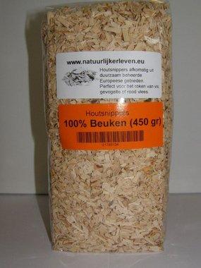 Houtsnippers voor roken en grillen (100% Beuken)