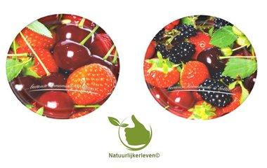 Twist-off deksel fruit