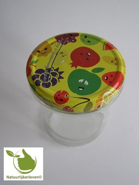 Jampotten 346 ml met twist-off deksel (cartoons) 6 stuks