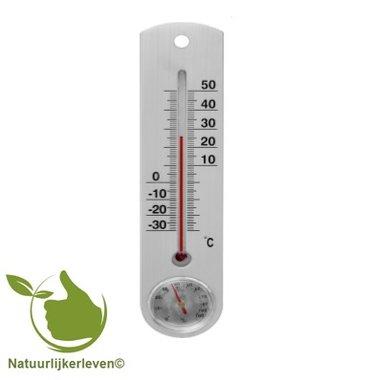 Thermometer voor buiten of binnen