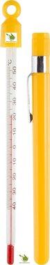 Wijn/bier thermometer (als gele penhouder)