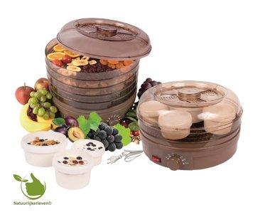Voedseldroger/yoghurtmaker NAT-02BR