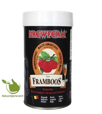 Bierkit Brewferm framboos voor 12 l