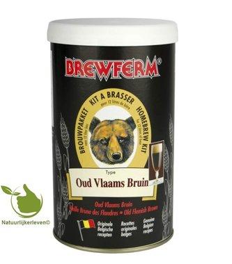 Bierkit Brewferm oud Vlaams Bruin voor 12 l