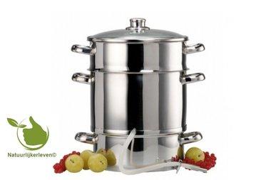 Ontsapper / Stoomextractor 10 liter