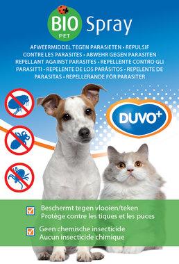 Bio anti vlooien en tekenspray hond en kat 200ml