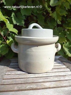 Zuurkoolpot 3 liter (grijs/klassiek)