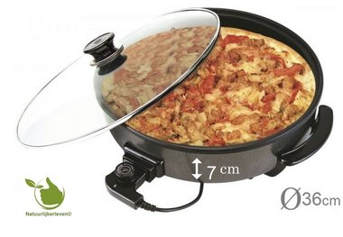 Electrische multi-pan en pizza-pan