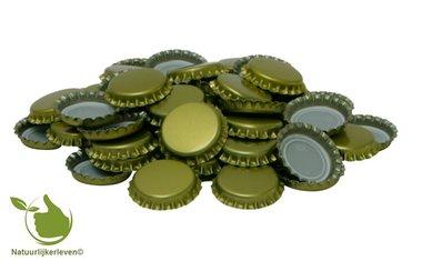 Kroonkurken goud 26 mm (verpakt per300 stuks)